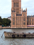 palace of westminster, london poster