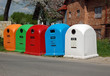 waste separation containers