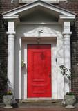red front door poster