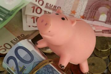 cochon argent