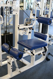 gym equipment poster