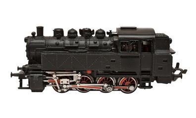 steam engine model w/ path (side view)
