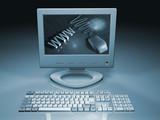 web computer poster