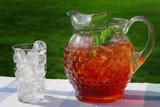 pitcher of iced tea poster