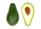 sliced avocado poster