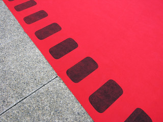 celebration red carpet