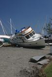 katrina flood boats poster