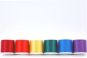 bottom row of thread