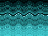 sea waves abstract poster