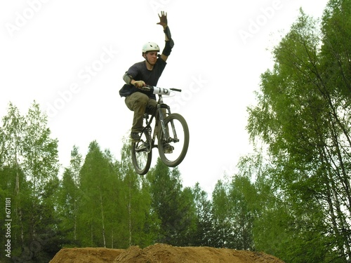 flying bike freeride