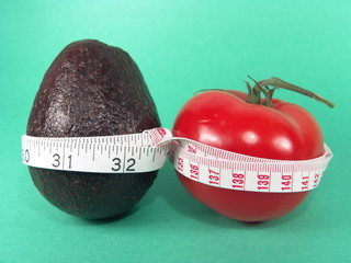 avocado & tomato