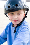 boy in the helmet poster