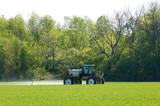 crop sprayer poster