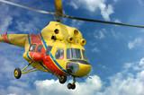 rescue chopper poster