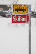 skibus sign