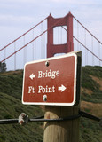 bridge sign poster