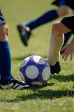 childrens football - soccer poster