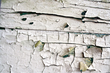 artistic peeling paint cracks pattern