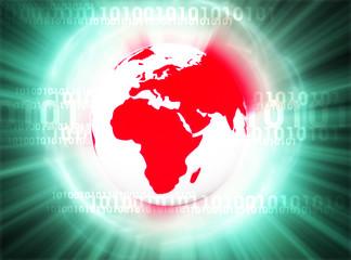 digital world backround