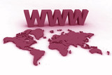 www world map globe 3