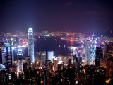 hong kong at night - Fine Art prints