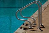 pool ladder poster