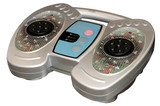 infrared blood circulation foot massager device isolated