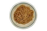 dish of italian spaghetti poster