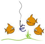goldfish cartoon poster