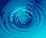 blue ripples poster