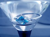 sapphire ring in tumbler poster