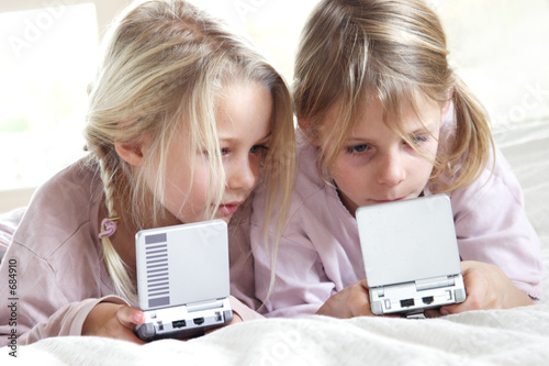 poster of girls playing video games