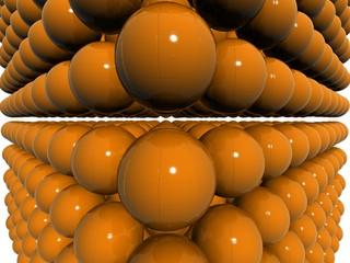 orange dual 3d orb field