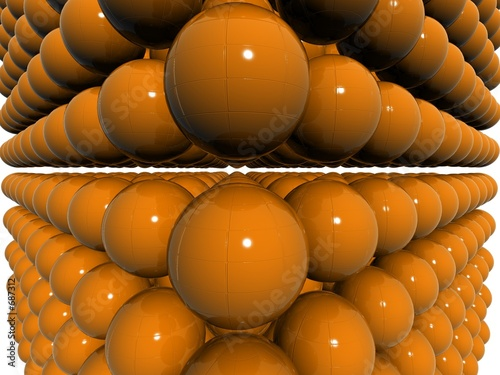 orange dual 3d orb field