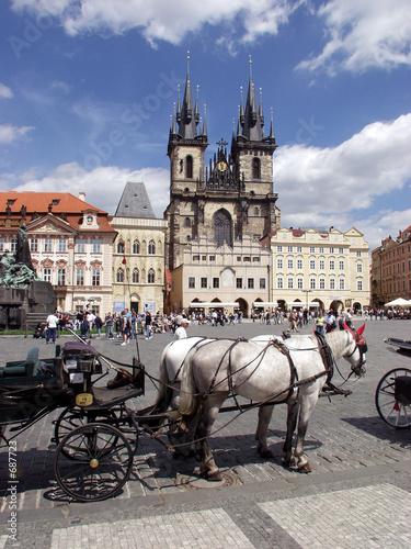 Fotobehang Praag staromestske square in prague