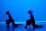 Fototapety dance in blue