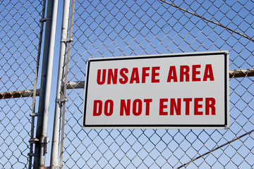 unsafe sign 2