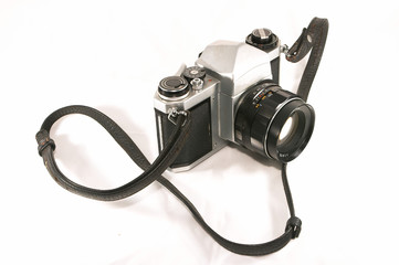 old mechanical camera