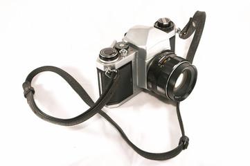 old mechanical camera