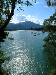sailing in wolfgangsee