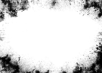 black border grunge background