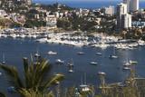 acapulco harbor overlook poster
