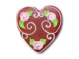 heart cake poster