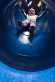 toddler slide poster