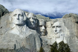 mount rushmore national monumet, the black hills, poster