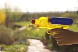 shooting gun poster