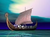viking green seas poster