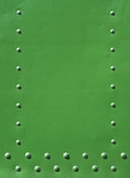 green industrial frame with space for text poster