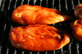 grilling chicken poster