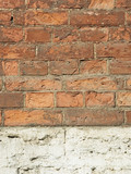 old brick wall - perfect grunge background poster